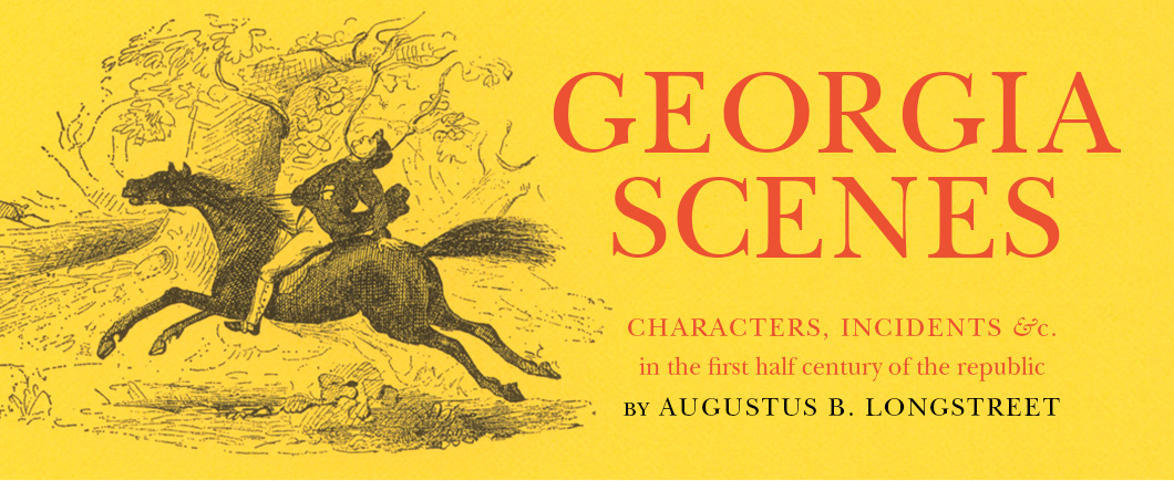 Georgia Scenes Book